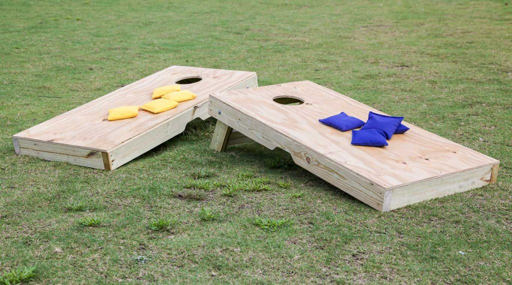 Entertainment Ideas for Your Next Outdoor Party (Corn hole)