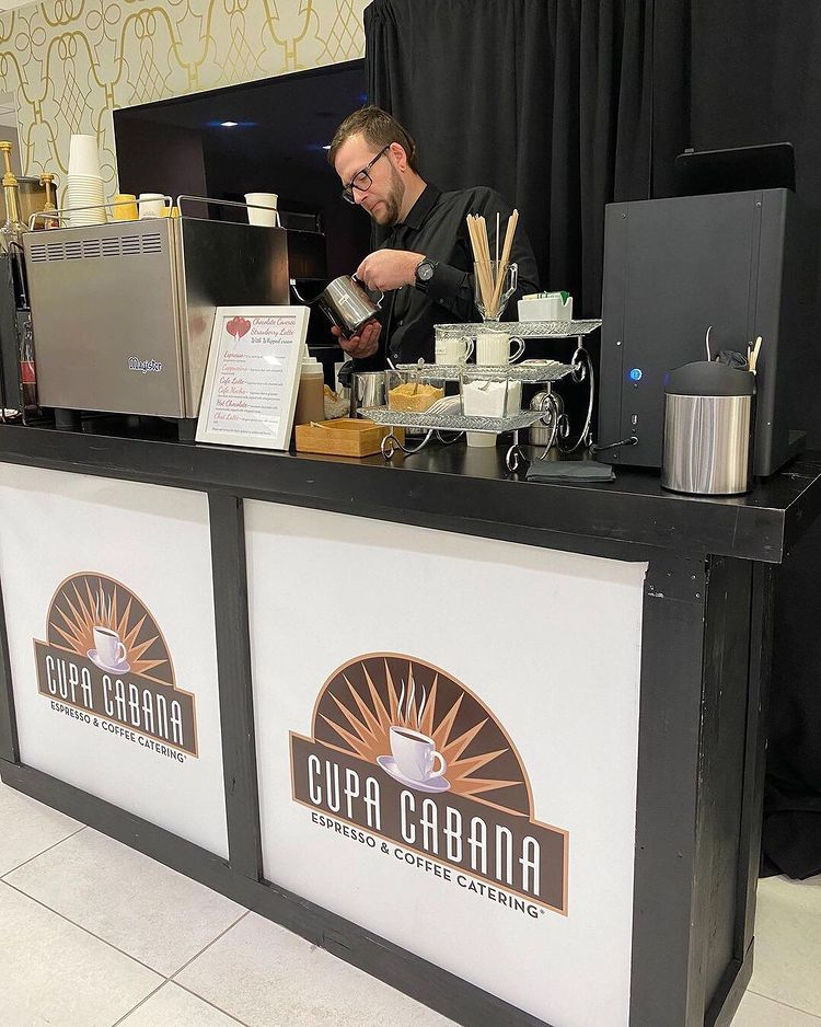 Warm Up Your Winter Wedding with a Mobile Espresso Bar
