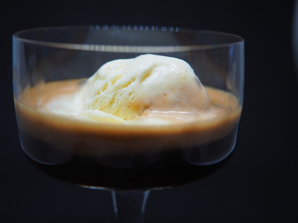 Finish off the Night with a Salted Caramel Affogato (Recipe)