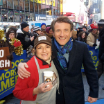 Robert Herjavec with Cupa Cabana Founder, Marianne Cordillo